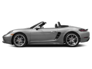 GT Silver Metallic 2018 Porsche 718 Boxster Pictures 718 Boxster Roadster 2D H4 Turbo photos side view