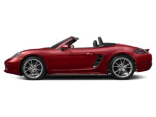 Carmine Red 2018 Porsche 718 Boxster Pictures 718 Boxster Roadster 2D H4 Turbo photos side view