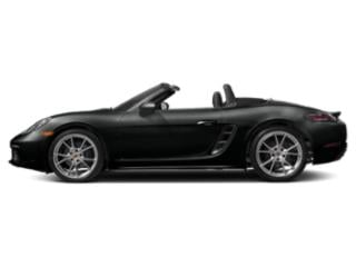 Jet Black Metallic 2018 Porsche 718 Boxster Pictures 718 Boxster Roadster 2D H4 Turbo photos side view
