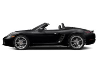 Black 2018 Porsche 718 Boxster Pictures 718 Boxster Roadster 2D H4 Turbo photos side view