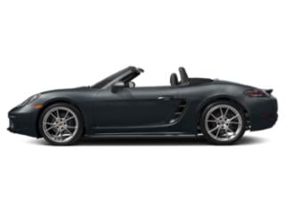 Graphite Blue Metallic 2018 Porsche 718 Boxster Pictures 718 Boxster Roadster 2D H4 Turbo photos side view