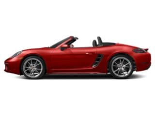 Guards Red 2018 Porsche 718 Boxster Pictures 718 Boxster Roadster 2D H4 Turbo photos side view