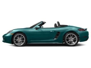 Miami Blue 2018 Porsche 718 Boxster Pictures 718 Boxster Roadster 2D H4 Turbo photos side view