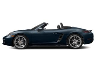Night Blue Metallic 2018 Porsche 718 Boxster Pictures 718 Boxster Roadster 2D H4 Turbo photos side view