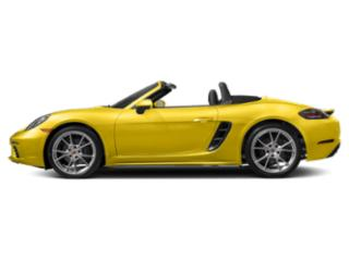 Racing Yellow 2018 Porsche 718 Boxster Pictures 718 Boxster Roadster 2D H4 Turbo photos side view