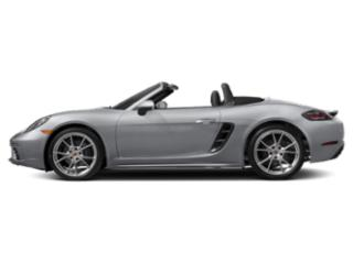 Rhodium Silver Metallic 2018 Porsche 718 Boxster Pictures 718 Boxster Roadster 2D H4 Turbo photos side view