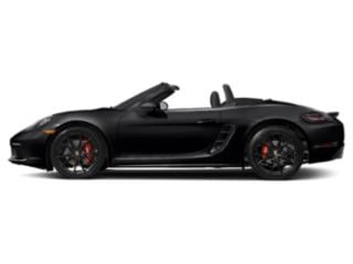 Black 2018 Porsche 718 Boxster Pictures 718 Boxster Roadster 2D S H4 Turbo photos side view