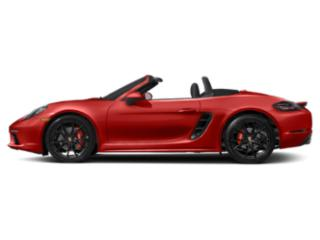 Guards Red 2018 Porsche 718 Boxster Pictures 718 Boxster Roadster 2D S H4 Turbo photos side view