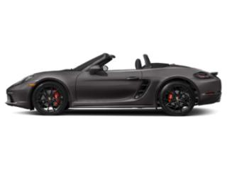 Agate Grey Metallic 2018 Porsche 718 Boxster Pictures 718 Boxster Roadster 2D S H4 Turbo photos side view