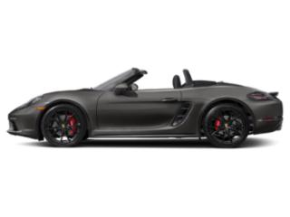 Agate Grey Metallic 2018 Porsche 718 Boxster Pictures 718 Boxster S Roadster photos side view