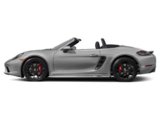 GT Silver Metallic 2018 Porsche 718 Boxster Pictures 718 Boxster S Roadster photos side view