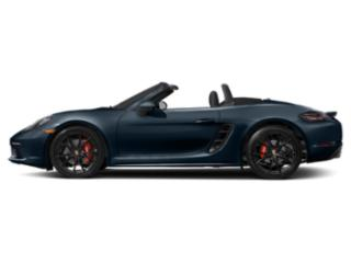 Night Blue Metallic 2018 Porsche 718 Boxster Pictures 718 Boxster Roadster 2D S H4 Turbo photos side view