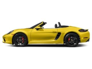Racing Yellow 2018 Porsche 718 Boxster Pictures 718 Boxster Roadster 2D S H4 Turbo photos side view