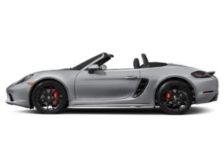 Rhodium Silver Metallic 2018 Porsche 718 Boxster Pictures 718 Boxster Roadster 2D S H4 Turbo photos side view