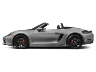 GT Silver Metallic 2018 Porsche 718 Boxster Pictures 718 Boxster Roadster 2D S H4 Turbo photos side view