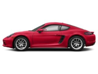 Guards Red 2018 Porsche 718 Cayman Pictures 718 Cayman Coupe photos side view