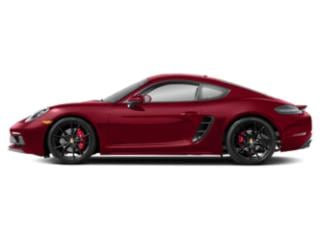 Carmine Red 2018 Porsche 718 Cayman Pictures 718 Cayman Coupe 2D GTS H4 Turbo photos side view