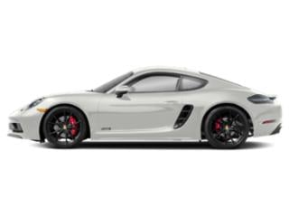 White 2018 Porsche 718 Cayman Pictures 718 Cayman GTS Coupe photos side view