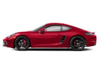 Guards Red 2018 Porsche 718 Cayman Pictures 718 Cayman Coupe 2D GTS H4 Turbo photos side view