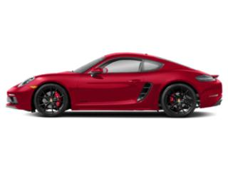 Guards Red 2018 Porsche 718 Cayman Pictures 718 Cayman GTS Coupe photos side view