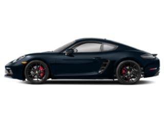 Night Blue Metallic 2018 Porsche 718 Cayman Pictures 718 Cayman Coupe 2D GTS H4 Turbo photos side view