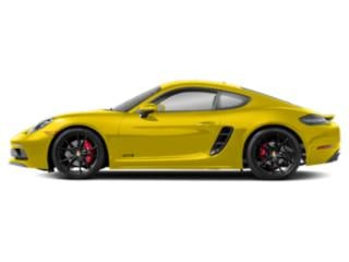 Racing Yellow 2018 Porsche 718 Cayman Pictures 718 Cayman GTS Coupe photos side view