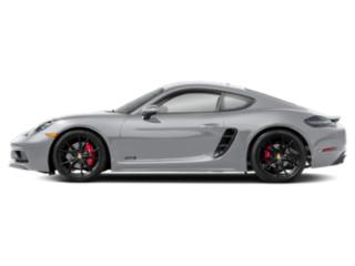 Rhodium Silver Metallic 2018 Porsche 718 Cayman Pictures 718 Cayman Coupe 2D GTS H4 Turbo photos side view
