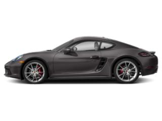 Agate Grey Metallic 2018 Porsche 718 Cayman Pictures 718 Cayman S Coupe photos side view