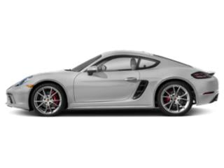 GT Silver Metallic 2018 Porsche 718 Cayman Pictures 718 Cayman S Coupe photos side view