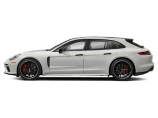 White 2018 Porsche Panamera Pictures Panamera Turbo Sport Turismo AWD photos side view