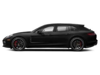 Volcano Grey Metallic 2018 Porsche Panamera Pictures Panamera Turbo Sport Turismo AWD photos side view