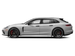 Carrara White Metallic 2018 Porsche Panamera Pictures Panamera Turbo Sport Turismo AWD photos side view