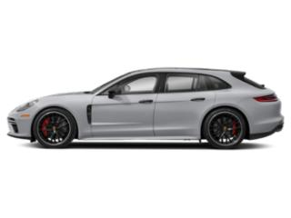 Rhodium Silver Metallic 2018 Porsche Panamera Pictures Panamera Turbo Sport Turismo AWD photos side view