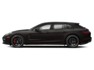 Ristretto Brown Metallic 2018 Porsche Panamera Pictures Panamera Turbo Sport Turismo AWD photos side view