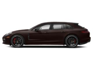 Mahogany Metallic 2018 Porsche Panamera Pictures Panamera Turbo Sport Turismo AWD photos side view