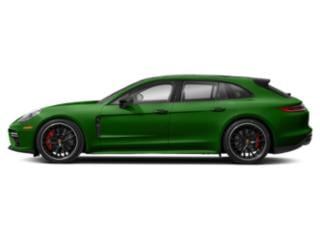 Mamba Green Metallic 2018 Porsche Panamera Pictures Panamera Turbo Sport Turismo AWD photos side view