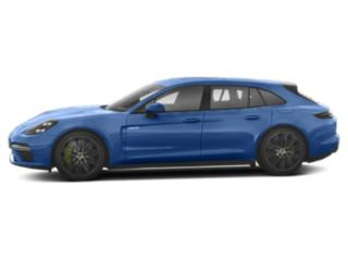 Sapphire Blue Metallic 2018 Porsche Panamera Pictures Panamera Turbo S E-Hybrid Sport Turismo AWD photos side view