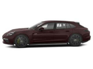 Amethyst Metallic 2018 Porsche Panamera Pictures Panamera Turbo S E-Hybrid Sport Turismo AWD photos side view