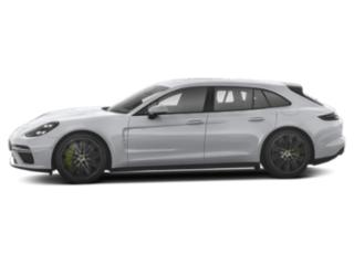 Rhodium Silver Metallic 2018 Porsche Panamera Pictures Panamera Turbo S E-Hybrid Sport Turismo AWD photos side view