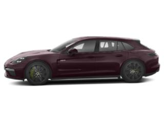 Burgundy Red Metallic 2018 Porsche Panamera Pictures Panamera Turbo S E-Hybrid Sport Turismo AWD photos side view