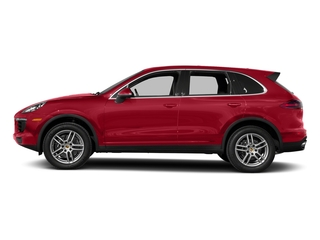Carmine Red 2018 Porsche Cayenne Pictures Cayenne Utility 4D AWD V6 photos side view