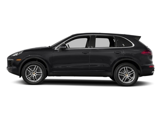 Black 2018 Porsche Cayenne Pictures Cayenne Utility 4D AWD V6 photos side view