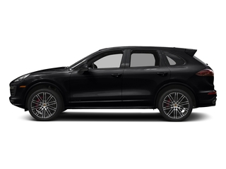 Black 2018 Porsche Cayenne Pictures Cayenne Utility 4D GTS AWD V6 Turbo photos side view