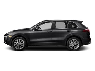 Black 2018 Porsche Cayenne Pictures Cayenne Utility 4D S AWD V6 Turbo photos side view