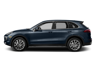 Moonlight Blue Metallic 2018 Porsche Cayenne Pictures Cayenne Utility 4D S AWD V6 Turbo photos side view