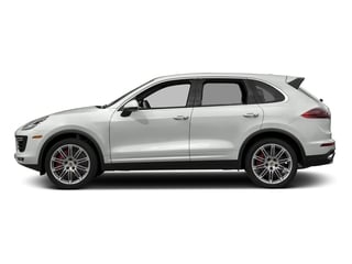 White 2018 Porsche Cayenne Pictures Cayenne Turbo S AWD photos side view