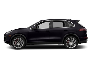 Purpurite Metallic 2018 Porsche Cayenne Pictures Cayenne Turbo S AWD photos side view