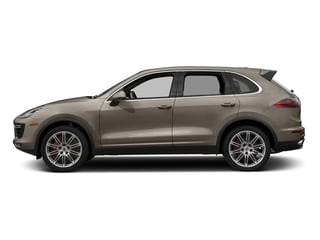 Palladium Metallic 2018 Porsche Cayenne Pictures Cayenne Utility 4D S AWD V8 Turbo photos side view
