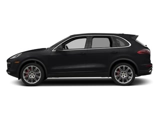 Black 2018 Porsche Cayenne Pictures Cayenne Turbo S AWD photos side view