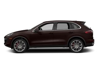 Mahogany Metallic 2018 Porsche Cayenne Pictures Cayenne Utility 4D AWD V8 Turbo photos side view